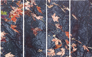 detail_Passage, woodcut, 8parts, 38x20 each, 2015